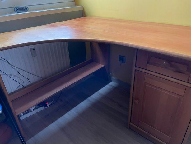 Biurko z litego drewna + MOŻLIWY TRANSPORT