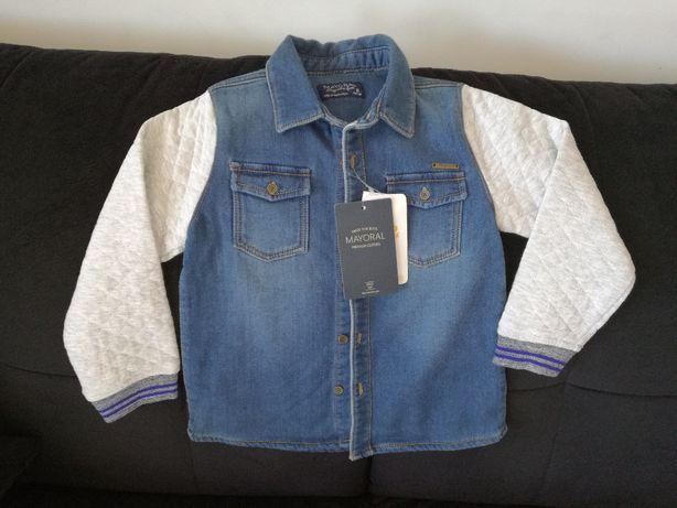 Koszula, bluza dla chłopca Mayoral w rozmiarze 116, Nowa.