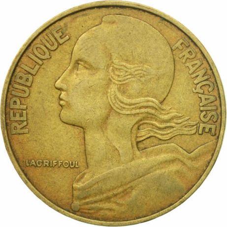 Moneta, Francja, Marianne, 20 Centimes, 1981