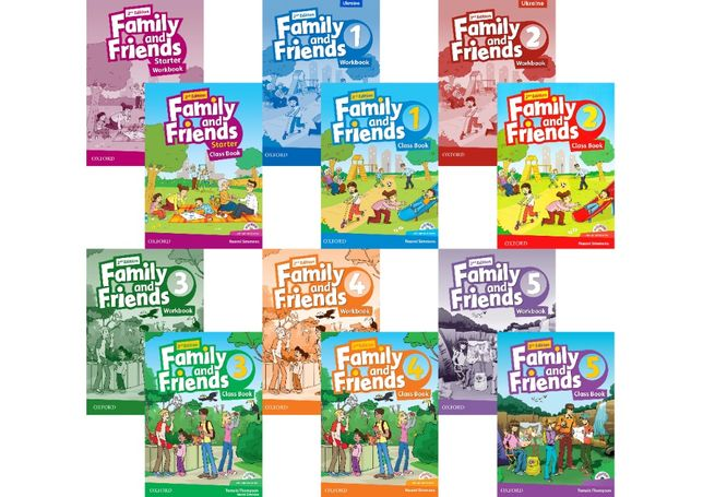 Family and Friends: Starter, 1, 2, 3, 4, 5, 6 (2-nd edition)