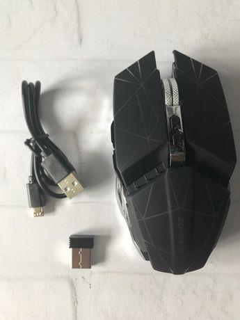 Мышь аккумуляторная беспроводная бесшумная  с подсветкой ACETECH CH002