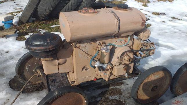 Silnik Andoria s 320 es 18 z rozrusznikiem sprawny do ciągnik sam