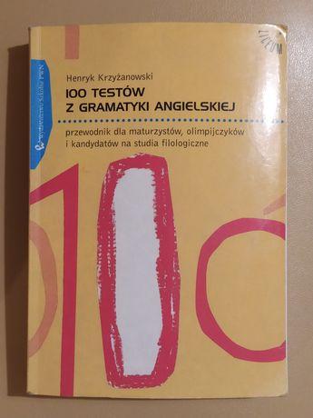 100 testów z gramatyki angielskiej, Krzyżanowski