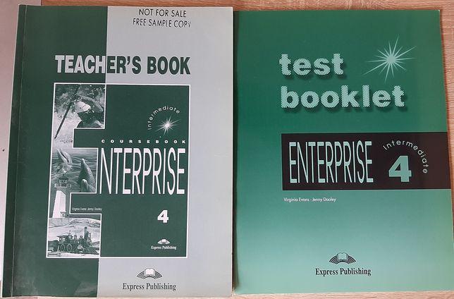 Enterprise 4 teacher's book + test booklet