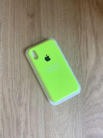Apple etui case iphone x/xs toksyczna zieleń