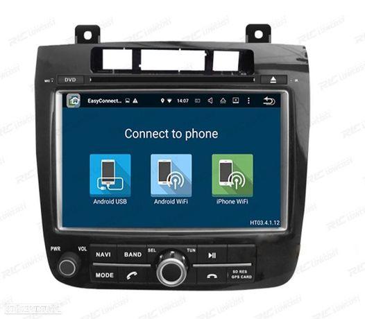 "AUTO RÁDIO DVD GPS ANDROID 7,1 8"" PARA VOLKSWAGEN TOUAREG 2010-"