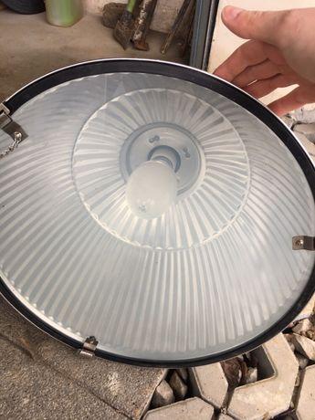 Lampa przemysłowa oprawa zapraszam
