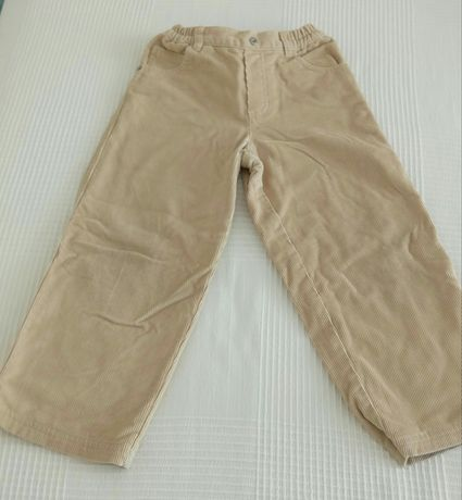 Calças Chicco e camisa Benetton para menino tam 4