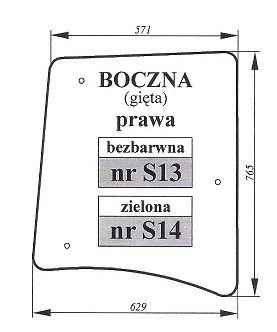 Zetor Proxima, Forterra, Super szyba