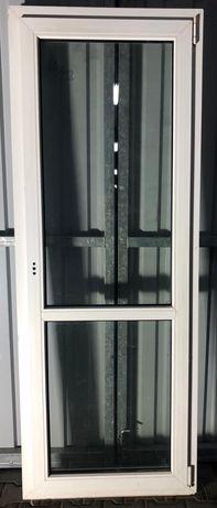 Okna PCV używane Balkonowe 219x82,uchylno rozwierne i inne! Piątek