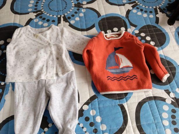 Roupa de bebe 0-3 meses
