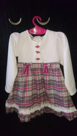 Нарядное платье 92см