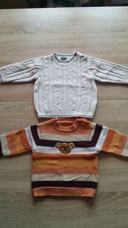 sweter 2 sztuki rozm. 80 cm