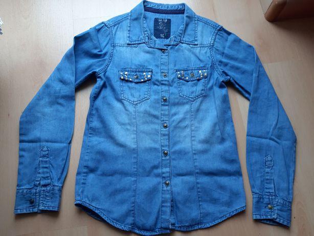 Koszula jeansowa roz. 146