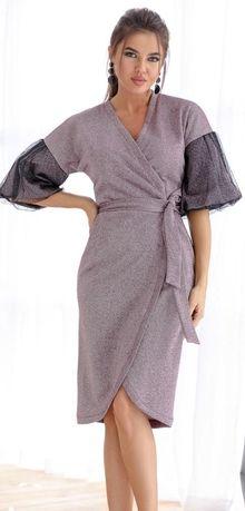 Плаття святкове якісне натуральне Сукня 46-48 розм L платье