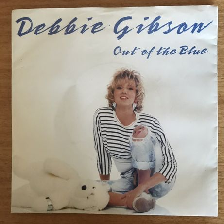 """Debbie Gibson """"Out Of The Blue"""" single 7"""" (1987)"""