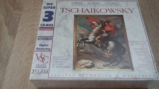 Tschaikowsky, Antonin Dworak, Maurice Ravel. 3 CD Nowe.