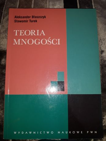 Teoria mnogości książka