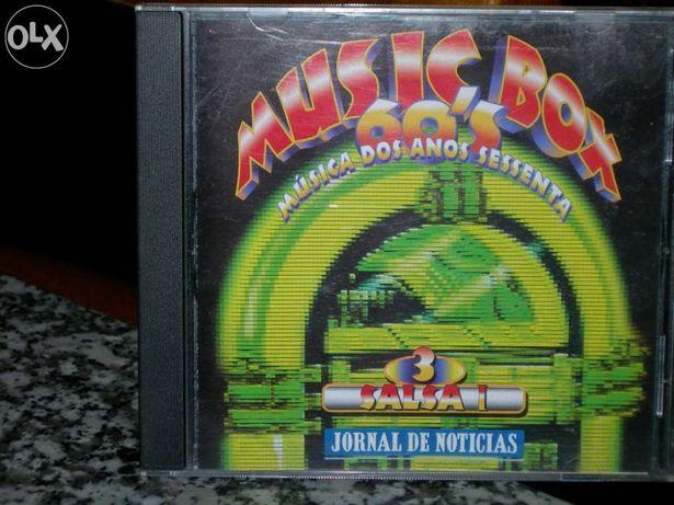"Vendo cd music box 60's ""salsa i"""