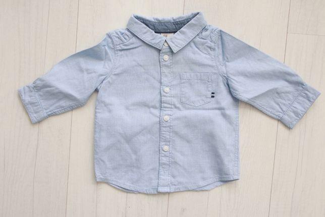 Elegancka koszula z długim rękawem H&M, rozmiar 68