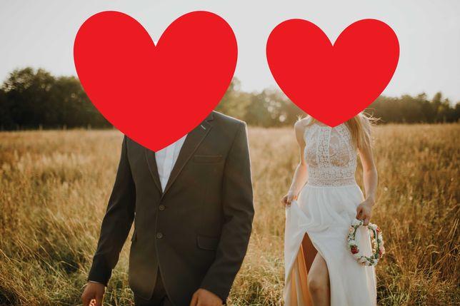 Romantyczna suknia ślubna + gratisy