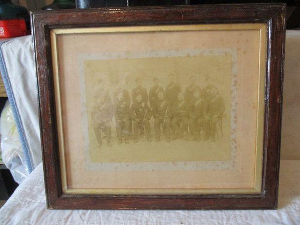 Stara fotografia szable, żołnierze