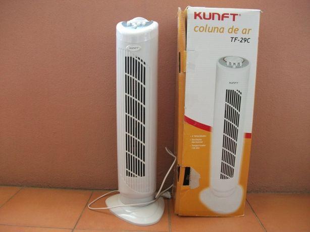 Ventoinha / Ventilador / Coluna de Ar Kunft TF-29C (com caixa)