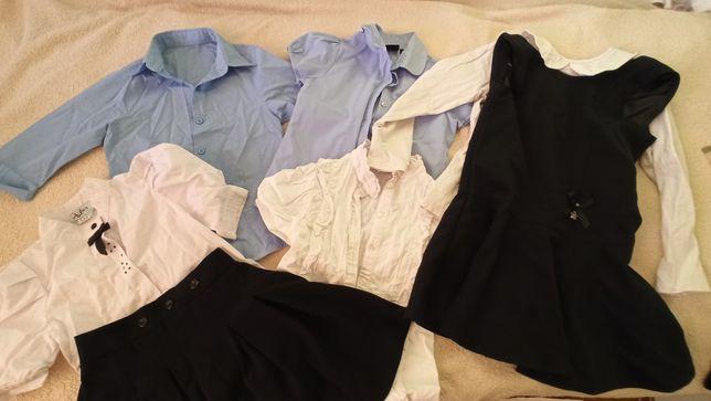 Школьная форма, сарафан, юбка, блузка, 8 лет