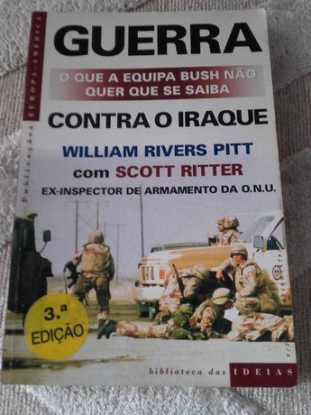 """Livro """"Guerra Contra o Iraque"""", de William Rivers Pitt"""