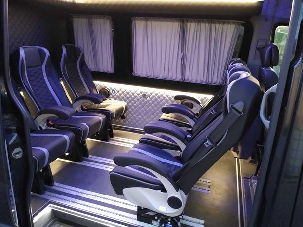 Fotele zabudowa busa zabudowy busów Sprinter Master Crafter Ducato