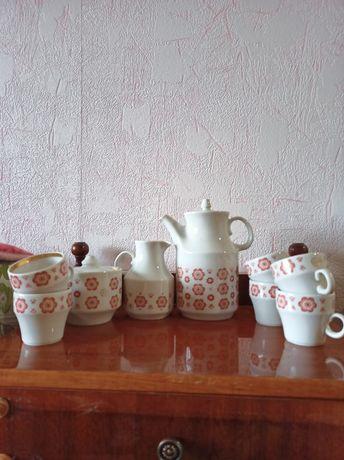 Чайный фарфоровой сервиз на 6 персон