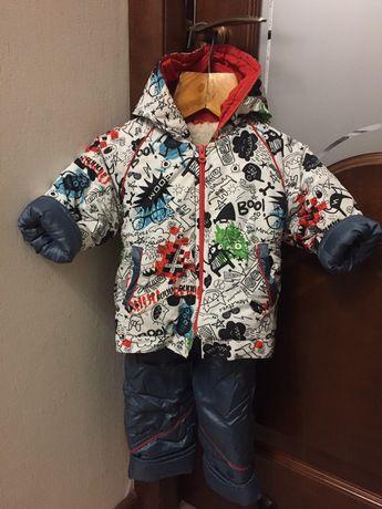 Комбінезон комбинезон куртка зимняя