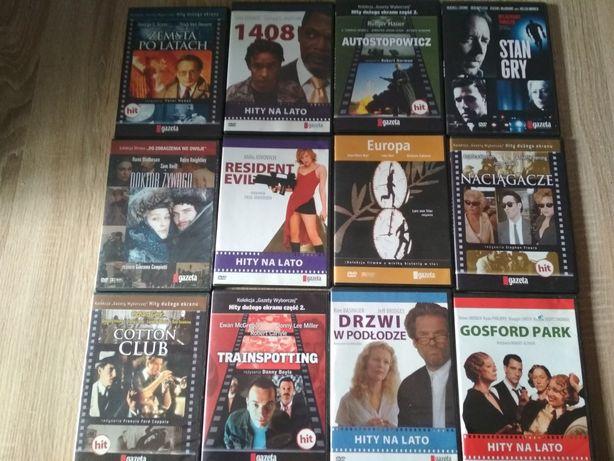 Filmy na DVD - zestaw 12 różnych filmów