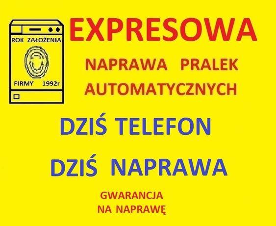 EXPRESOWA naprawa pralek automatycznych - serwis pralki ŁÓDŹ i okolica