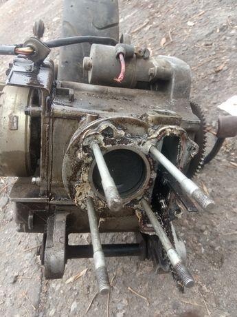 Продам мотор с колесом