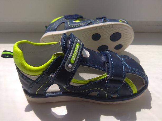 Детские ортопедические кожаные сандалики ТМClibee.