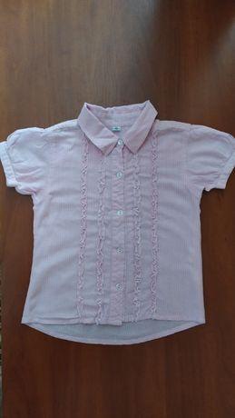 Блуза, блузка для девочки на рост 122 см