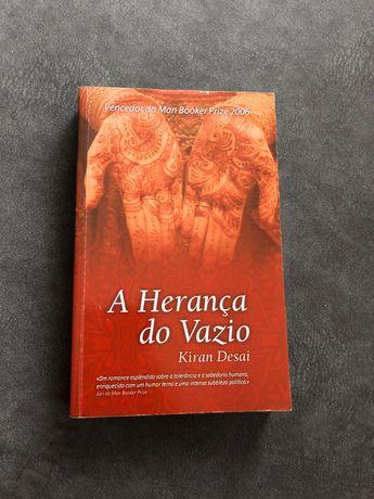 Livro A Herança do Vazio de Kiran Desai
