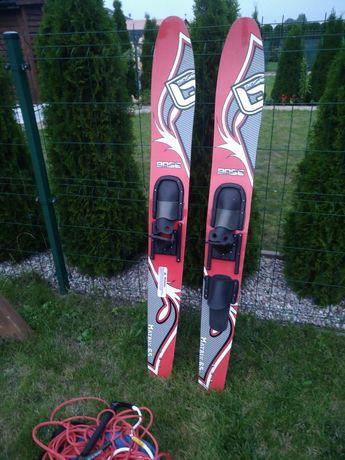 Narty wodne BASE MATRIX 65  lina rączka komplet seadoo speedster