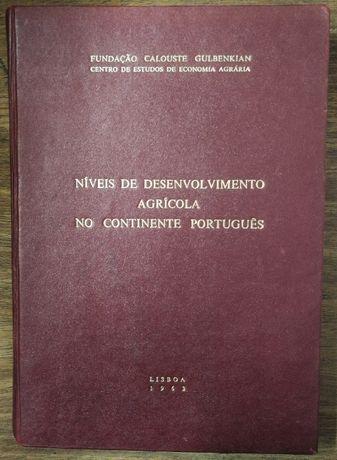 níveis de desenvolvimento agrícola no continente português, 1963