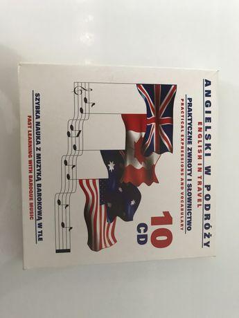 Kurs języka angielskiego 10 płyt CD
