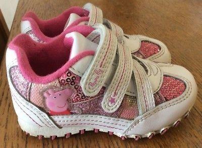 Кроссовки для девочки со свинкой Пеппой