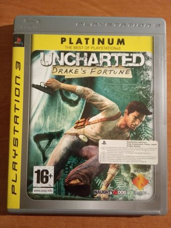 Uncharted: Drake's Fortune - PS3 - JAK NOWA