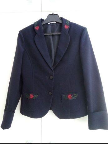 Пиджак темно-синий для девочки 122-128 размер