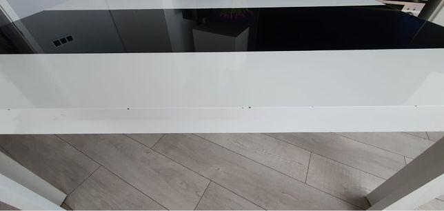 Bialo- czarny ławo stół - wysoki połysk.