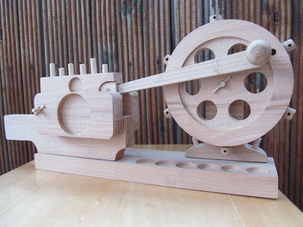 Деревянная , механическая игрушка, сувенир