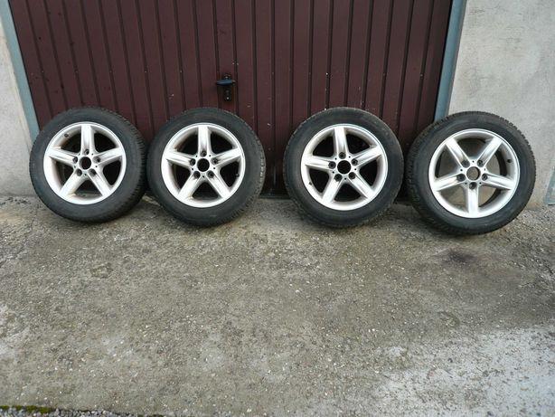 Felgi aluminiowe BMW 5x120x72,5 wraz z oponami zimowymi 205/55/16