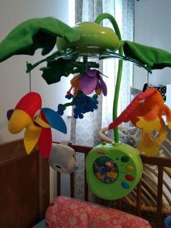 Karuzela dla dziecka, grająca Fisher Price