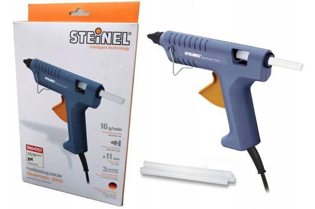 Pistolet do klejenia klejowy Gluematic 3002 STEINEL + 3szt kleju NOWY