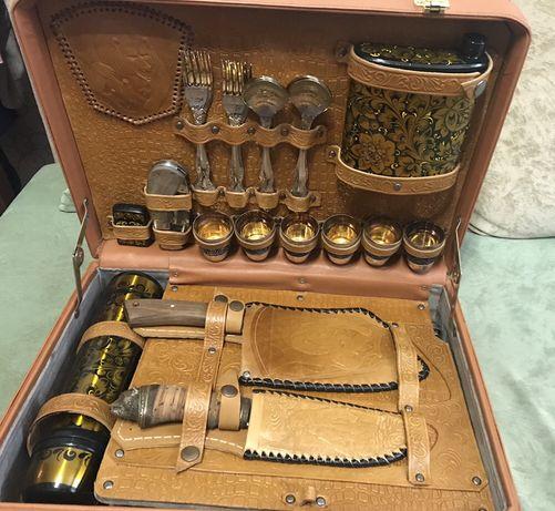 Набор охотничий подарочный в чемодане